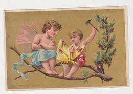 26822 Chromo Magasin Grands Magasins PRINTEMPS Paris - Ange Amour Papillon - Autres