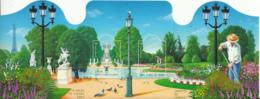 France 2004 MNH Sc #3029 Sheet Of 2 Jardin Des Tuileries, Parc Floral De Paris Salon Du Timbre - France
