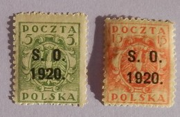 SILESIE ORIENTALE ANNEE 1920 YT 35/37 NEUFS* - Silezië (Opper- En Neder-)