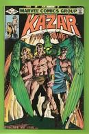 Ka-Zar The Savage # 10 - Shanna, Zabu - Marvel Comics Group - In English - Brent Anderson - January 1982 - Livres, BD, Revues