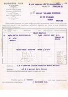 Rouen: 1933, Boissière Fils - Factures & Documents Commerciaux