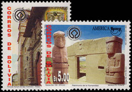 Bolivia 2001 UNESCO World Heritage Sites Unmounted Mint. - Bolivia