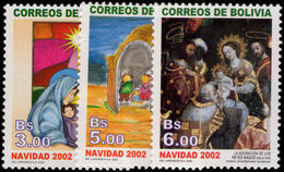 Bolivia 2002 Christmas Unmounted Mint. - Bolivia