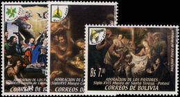 Bolivia 2003 Christmas Unmounted Mint. - Bolivia