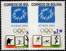 Bolivia 2004 Olympics Unmounted Mint. - Bolivia