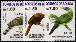 Bolivia 2005 Birds Unmounted Mint. - Bolivia