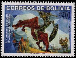 Bolivia 2005 Don Quixote Unmounted Mint. - Bolivia