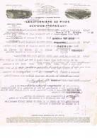 Paris: 1932, La Cotonnière De Fives & Schwob Frères & Cie; Filatures & TTssages De Coton ( 2 Scans) - Factures & Documents Commerciaux
