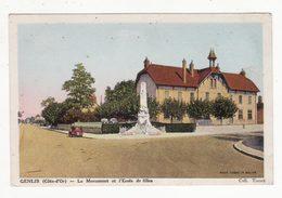 21  GENLIS   Monument Et école De Filles - Autres Communes