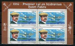 RC 11539 FRANCE PA N° 73a HENRI FABRE HYDRAVION PROVENANT DU FEUILLET NEUF ** TB - Airmail