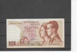Billet De 50 Francs Couple Royal - [ 2] 1831-... : Royaume De Belgique