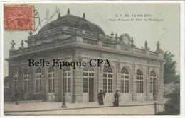 75 - PARIS 16 -- #28 -- Gare - Avenue Du Bois De Boulogne +++ E. V. / EV +++ 1905 / Colorisée - Arrondissement: 16