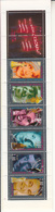 France 1994 MNH Sc #B661a Booklet 6 + 2 Labels Actors And Actresses - Carnets