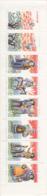 France 1995 MNH Sc #B669a Booklet 6 + 2 Labels Provencal Nativity Figures - Carnets