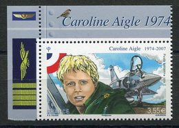 RC 11550 FRANCE PA N° 78a CAROLINE AIGLE MIRAGE 2000 PROVENANT DU FEUILLET NEUF ** TB - Airmail