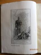 Savoie  - LE MARQUIS  DE  BISSY 1878 - 1935  - Eloge Funébre  - Gravure De André JACQUES - Alpes - Pays-de-Savoie