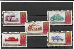 CHINA  1961  Mi 597-601   GESTEMPELT - 1949 - ... People's Republic