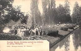 Cortège Zénobe Gramme Sortant Du Château De Jehay Bodegnée (belle Animation 1908, Peu Vue) - Amay