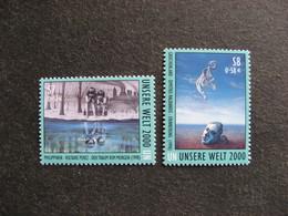O.N.U.  C.I. De Vienne : TB Paire N° 323 Et N°324, Neufs XX. - Wien - Internationales Zentrum