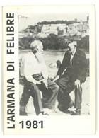 Livre  L'Armana Di Felibre 1981 ( Felibrige / Frédéric Mistral ) - Livres, BD, Revues