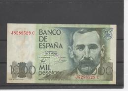 Billet De 1000 Pesétas - [ 4] 1975-… : Juan Carlos I