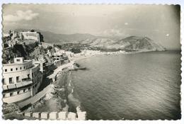 CARTE PHOTO ALMUNECAR - PASEO PRIETO MORENO Y HOTEL SEXI - Espagne