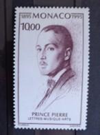 MONACO 1995  Y&T N° 1983 ** - CENTENAIRE DE LA NAISSANCE DU PRINCE PIERRE DE MONACO - Unused Stamps