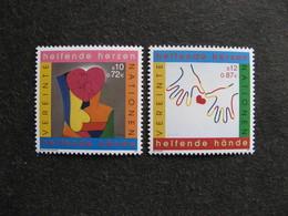 O.N.U.  C.I. De Vienne : TB Paire N° 346 Et N°347, Neufs XX. - Wien - Internationales Zentrum