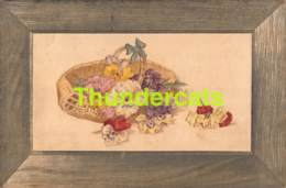 CPA EN RELIEF GAUFREE ILLUSTRATEUR MARY MILL 535 EMBOSSED CARD VIOLETS - Illustrators & Photographers