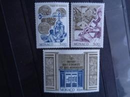 MONACO 1996 Y&T N° 2060 à 2062 **  - MUSEE DES TIMBRES ET DES MONNAIES - Unused Stamps