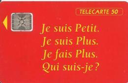 CARTE-PUBLIC-50U-12/1992- F311A-SC5-MAGGI-5 IMPACT 44775-UTILISEE- TBE - 1992