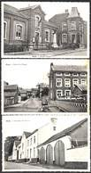 Oleye - Lot De 3 Cartes (entrée Du Village, Chaussée De Nivelles, Maison Communale) - Waremme