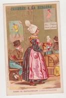 26831 Chromo CHICOREE à La BERGERE BONZEL HAUBOURDIN -femme CHATEAUBRIANT 44 -bar Restaurant Coq Sans Plumes - Thé & Café
