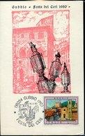 42377 Italia, Special Card  1980  Festa Dei Ceri  Gubbio, Cartolina Speciale - Andere
