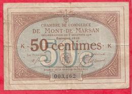 50 Centimes Chambre De Commerce De Mont De Marsan   Dans L 'état (107) - Chambre De Commerce