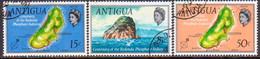 ANTIGUA 1969 SG #249-51 Compl.set Used Redonda Phosphate Industry - Antigua & Barbuda (...-1981)