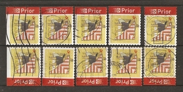 Belgique 2007 - VACANCES  - Plage - Cerf-Volant - Petit Lot De 10 Timbres De Carnet  C 75 - 4 Différents - Carnets 1953-....