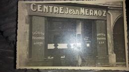 Carte Photo Centre Jean Mermoz Le Colis Du Prisonnier De Guerre Service Social Départemental Artisans Du Devoir - Commerce