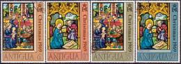 ANTIGUA 1969 SG #252-55 Compl.set Used Christmas - Antigua & Barbuda (...-1981)