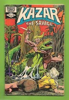 Ka-Zar The Savage # 18 - Shanna, Zabu - Marvel Comics Group - In English - B Anderson, A Gil & V Mayerik - Sept 1982 - Livres, BD, Revues
