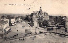 B56136 Limoges - Place De L' Hôtel De Ville - Limoges