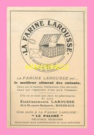 CARTE  PUB  Pour La Farine Larousse à BORDEAUX - Ohne Zuordnung