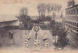 Givry - Bannière De Saint-Jean-Baptiste De La Salle ( Groupe D'élèves ) - Quévy