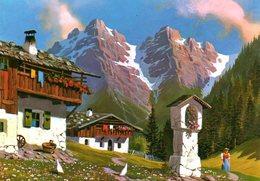Autriche : St Anton Am Arlberg Alte Bauernhofe Mit Bildstock - St. Anton Am Arlberg