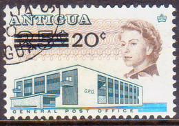 ANTIGUA 1970 SG #256 20c On 25c Used - Antigua & Barbuda (...-1981)