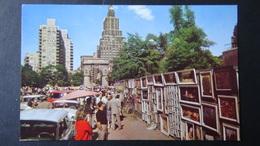 USA - New York - Greenwich Village - Outdoor Art Gallery - Washington Arch - One Fifth Avenue Hotel  - Look Scans - Greenwich Village