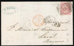 ITALY. 1866. Genova. Nice Shade. E. F-VF. - Italy