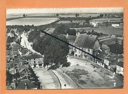 CPSM Grand Format - En Avion Au Dessus De...13 - Le Neubourg  -(Eure) - Le Vieux Château - Le Neubourg