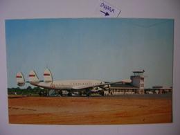 CRAVEIRO LOPES (BISSAU) AIRPORT POST CARD IN GUINE PORTUGUESA IN THE STATE - Aerodromes
