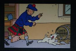 Carte Postale Tintin - Hergé